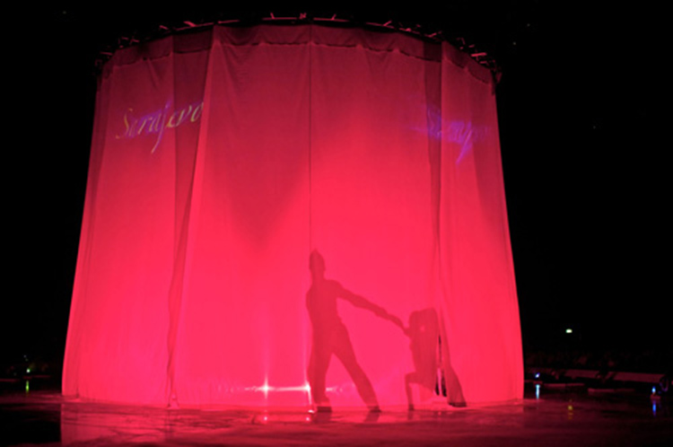 stage curtain hire